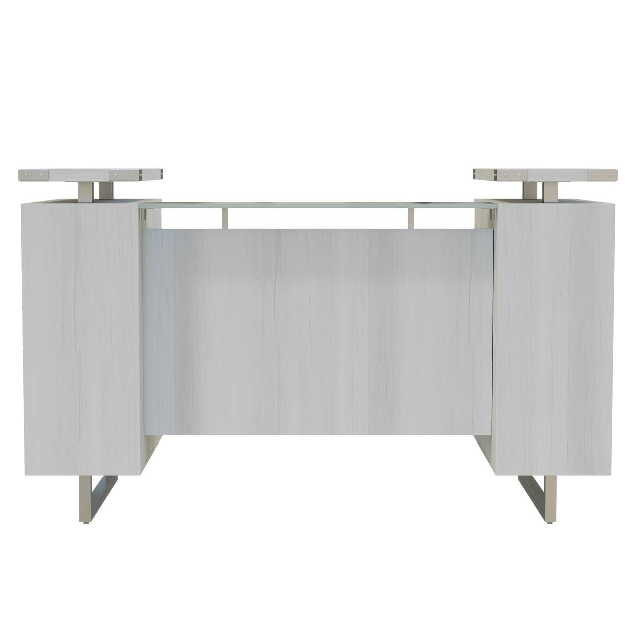 mrrd78 mirella reception desk front view
