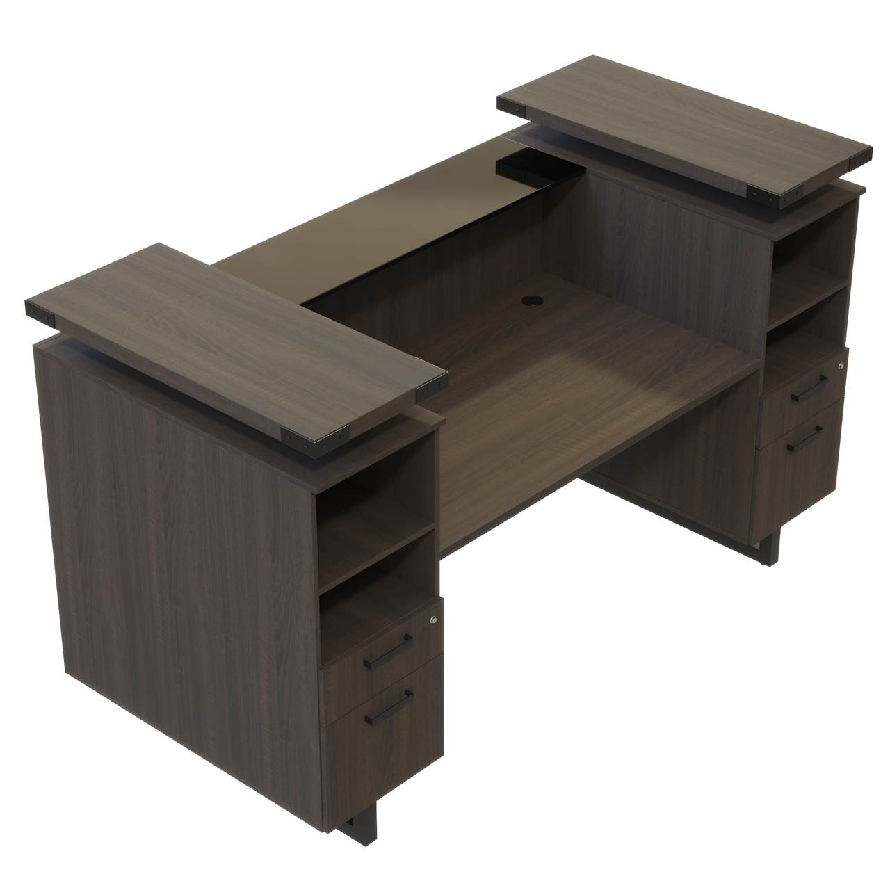 mirella southern tobacco reception desk top view