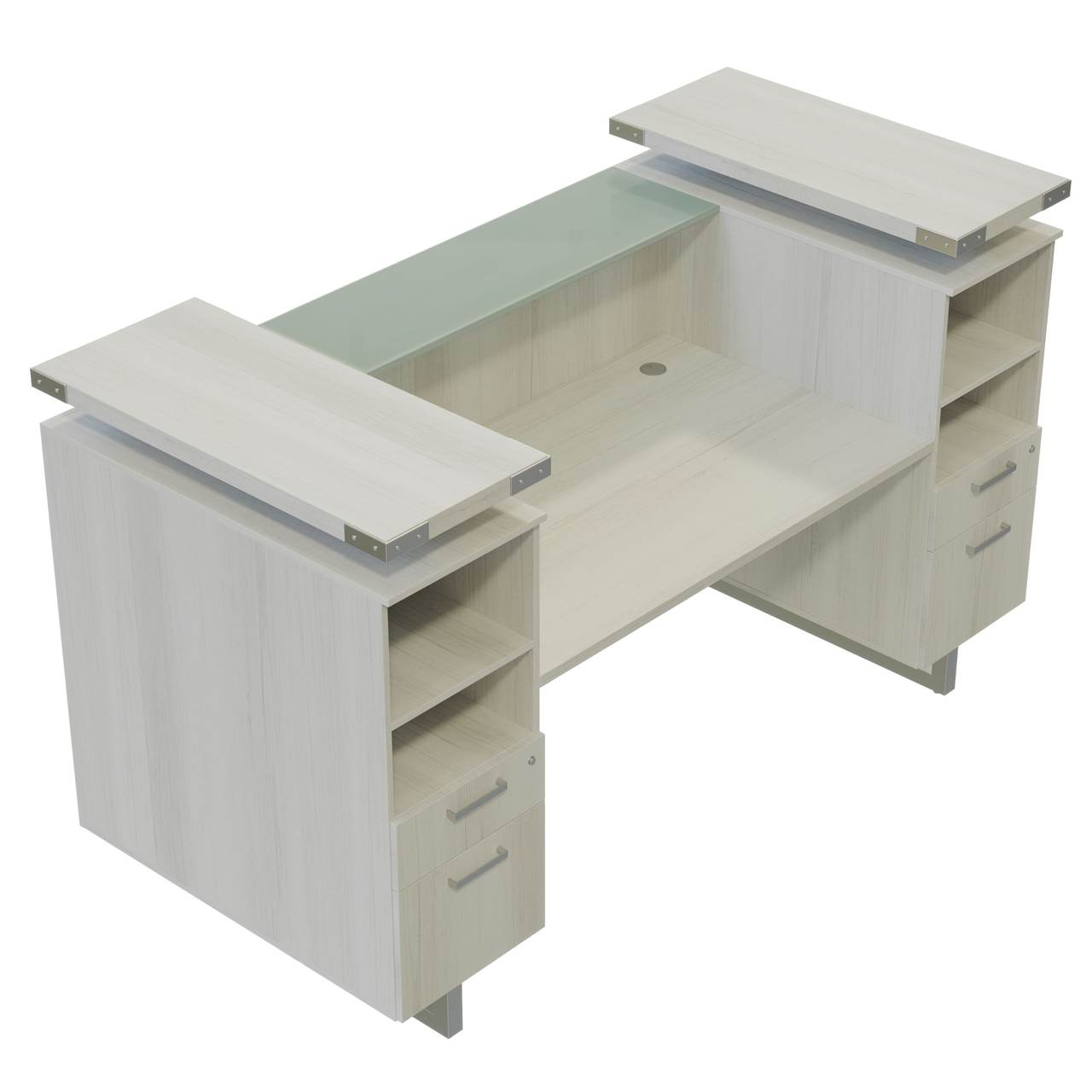 mrrd78 mirella reception desk top view