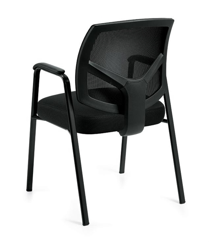 Offices To Go Executive Mesh Back Side Chair OTG11512B