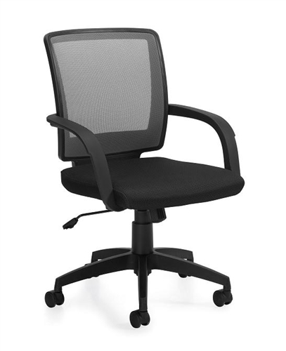 Offices To Go Gray Mesh Back Managers Task Chair 10900B