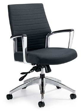 Global 2671-4 Accord Series Mid Back Office Chair