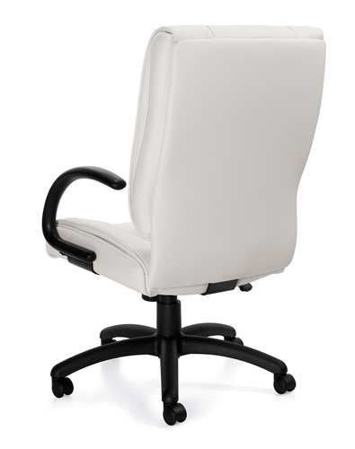 Offices To Go Luxhide Mid Back Executive Chair 2701B
