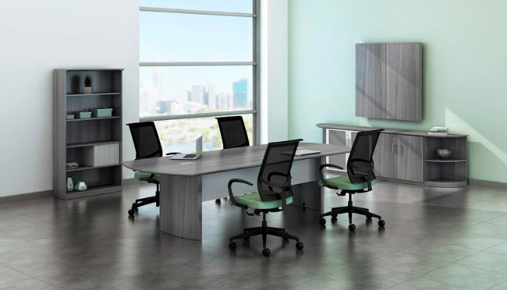 medina 8ft powered conference table