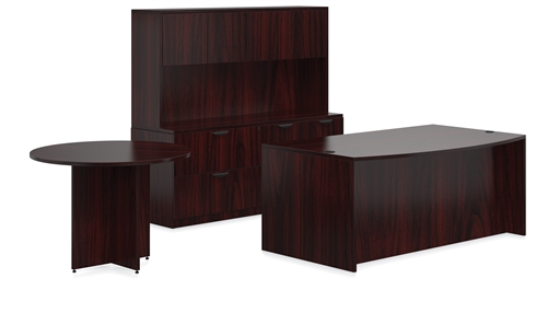 offices to go mahogany office furniture package rh officeanything com mahogany office furniture set mahogany office furniture for sale