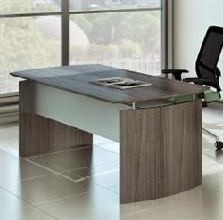 """72"""" gray medina desk"""