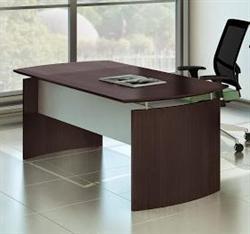 "72"" mocha medina desk"