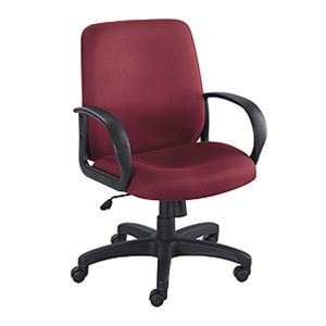 Safco Poise Mid Back Office Chair 6301