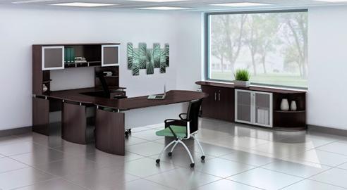 medina modern mocha office furniture