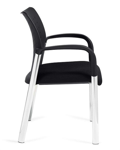 Offices To Go Stackable Occasional Chair with Arms 11740B