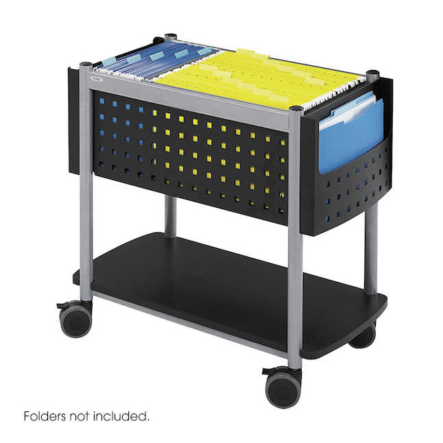 safco scoot mobile file cart