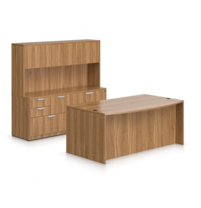 Offices To Go Superior Laminate Executive Furniture Set SL-J (5 Finishes Available!)