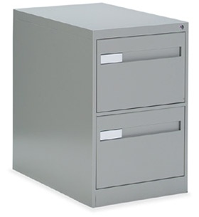 Global 2800 Series Vertical 2-Drawer File Cabinet 28-252