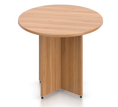 Offices To Go Superior Laminate Meeting Table with Walnut Finish