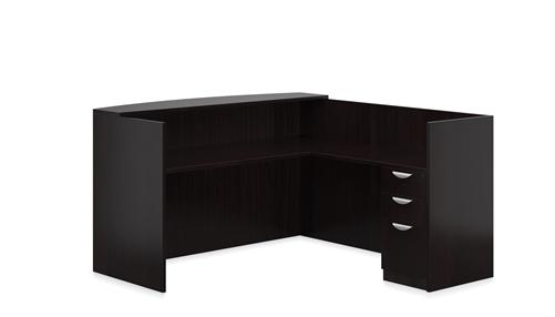 Offices To Go Superior Laminate Reception Desk