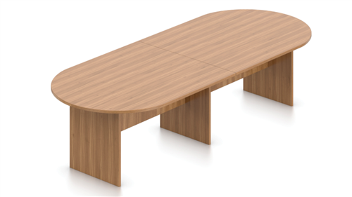 Offices To Go Superior Laminate Series 10' Autumn Walnut Conference Table