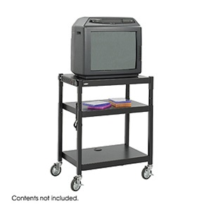 Safco Steel Cart 8932BL