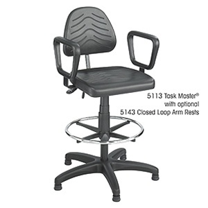 Safco Task Master Deluxe Workbench Height Chair 5113