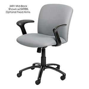 Safco Uber Elite Big & Tall Task Chair 3491