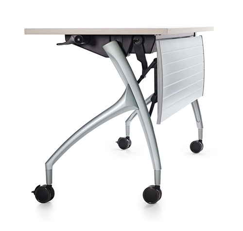 Global 2gether Series Rectangular Flip Top Nesting Table (6 Sizes Available!)