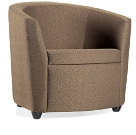 Global 3371 Sirena Bucket Lounge Chair
