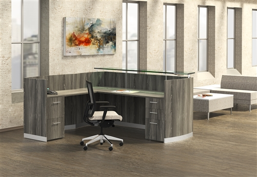 mnrslbf gray steel medina reception desk
