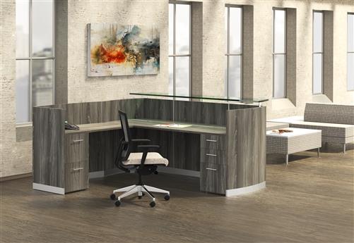 mnrslbf gray steel medina reception desk