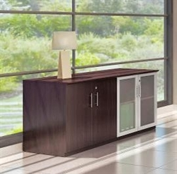 model mvlc medina low wall cabinet with mocha finish