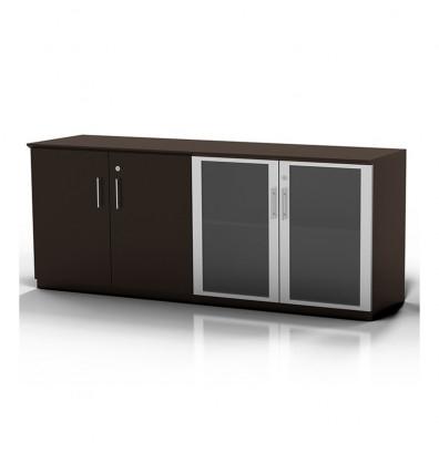 mocha finished medina low wall cabinet