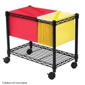 Safco Wire Mobile File Cart 5201