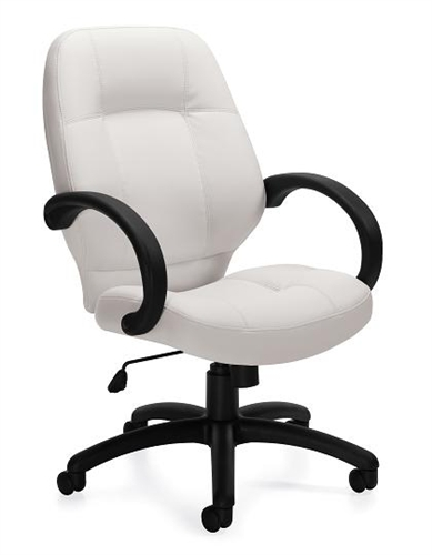 Offices To Go White Executive Chair 2788-BL28