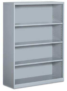 Global 4 Shelf Metal Bookcase
