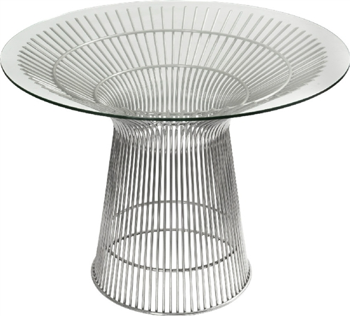 Santana Modern Glass Meeting Table by Woodstock (3 Sizes Available!)