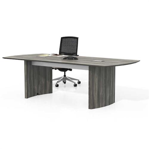medina 8' gray conference table mnc8lgs
