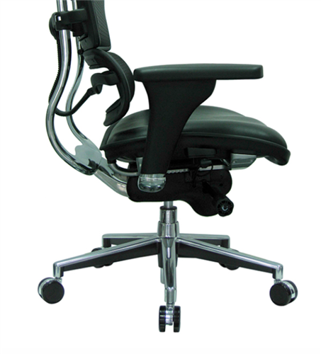 Excellent Eurotech Black Leather And Mesh Ergohuman Office Chair Lem4Erg Ibusinesslaw Wood Chair Design Ideas Ibusinesslaworg