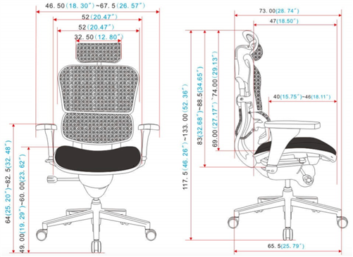 Awesome Eurotech Black Leather And Mesh Ergohuman Office Chair Lem4Erg Ibusinesslaw Wood Chair Design Ideas Ibusinesslaworg