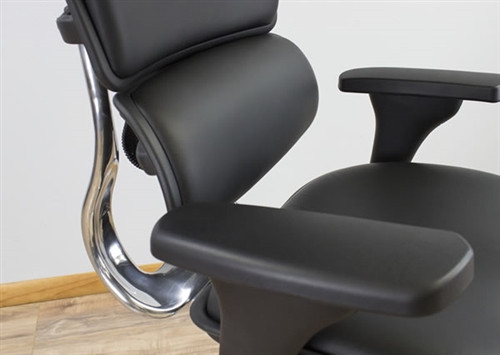 Incredible Eurotech Black Leather Ergohuman Luxury Ergonomic Office Chair Le9Erg Ibusinesslaw Wood Chair Design Ideas Ibusinesslaworg