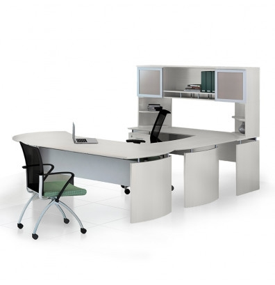 medina sea salt finished u shaped office desk mnt32tss