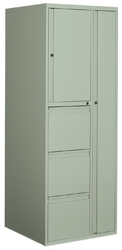 Global 9100 Series Metal Storage Tower 9PT5-3FR