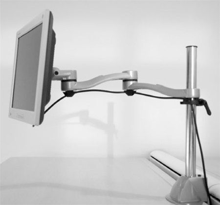 Systematix 7915 Double Extension Monitor Arm