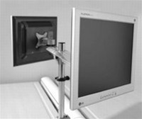 Systematix 7925 Dual Screen Beam Mount Monitor Arm