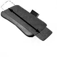 Systematix Keyboard Tray with Slimline Slide-Through Platform