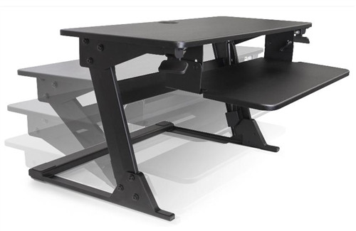 Systematix Volante Desktop Sit-Stand Workstation