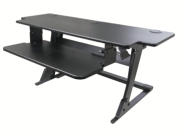 "Systematix Volante HD42 42"" Heavy Duty Sit To Stand Workstation"