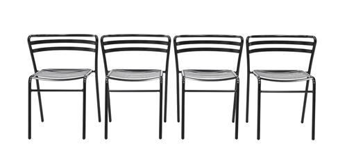 Eurotech Reklin Stack Chairs R3110 (4 Pack!)