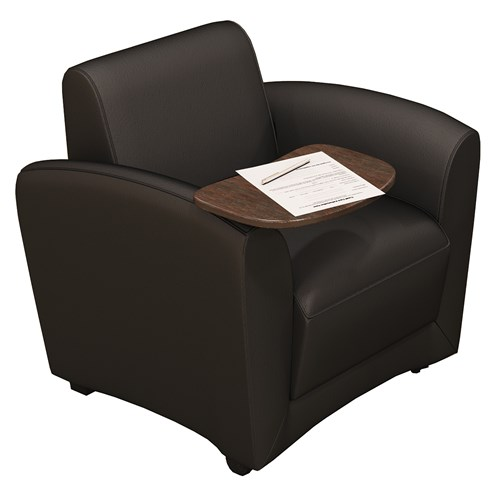 Mayline Santa Cruz Collection Mobile Lounge Chair VCCMT Package (5 Piece)