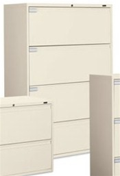Global 9100P Series Lateral File 9136P-4F1H