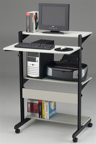 Mayline SOHO Adjustable Computer Table 8432SO