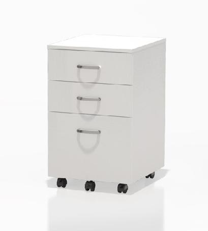 Mayline SOHO Collection Mobile 3 Drawer Pedestal 1008 (3 Finish Options!)