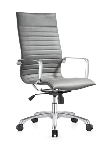 Woodstock Marketing Janis Ribbed Back Conference Chair (5 Color Options!)
